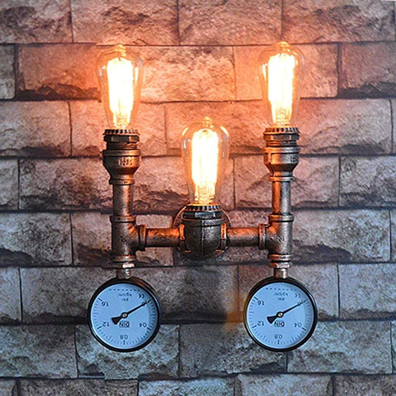 Wandleuchte Kreative Beleuchtung Für Zu Hause Wasserleitungen Wandleuchte Wand Dekoration Bar Tischleuchte Mode (Farbe  A)