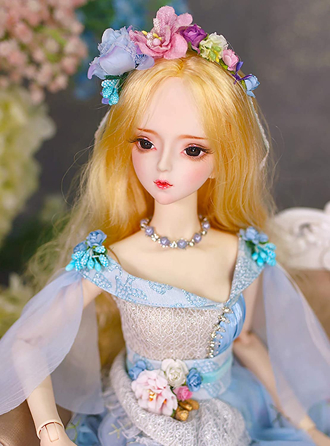 Aongneer BJD Dolls 1//3 Doll 24 Inch 34 Ball Joints Doll DIY Toy Gift Dream Fairy DBS Doll Lifelike Pose with Brown Wig Gorgeous Dress Nice Shoes Beautiful Makeup for Birthday-Alina