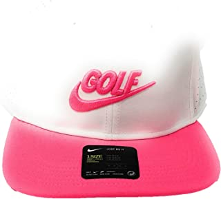 Nike Pro Performance Snap Back Golf Cap 2017 White Anthracite Hyper Pink  One Size 4da59bbed985
