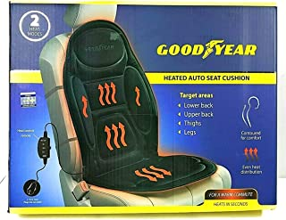Goodyear GY1204 \ 3 Piece Car Seat Cover \ Separate Parts for Added Flexibly \ Compatible with Most Vehicles \ Easy Slip-On Assembly \ Premium Comfort \ One Size Fits All \ Natural Colors