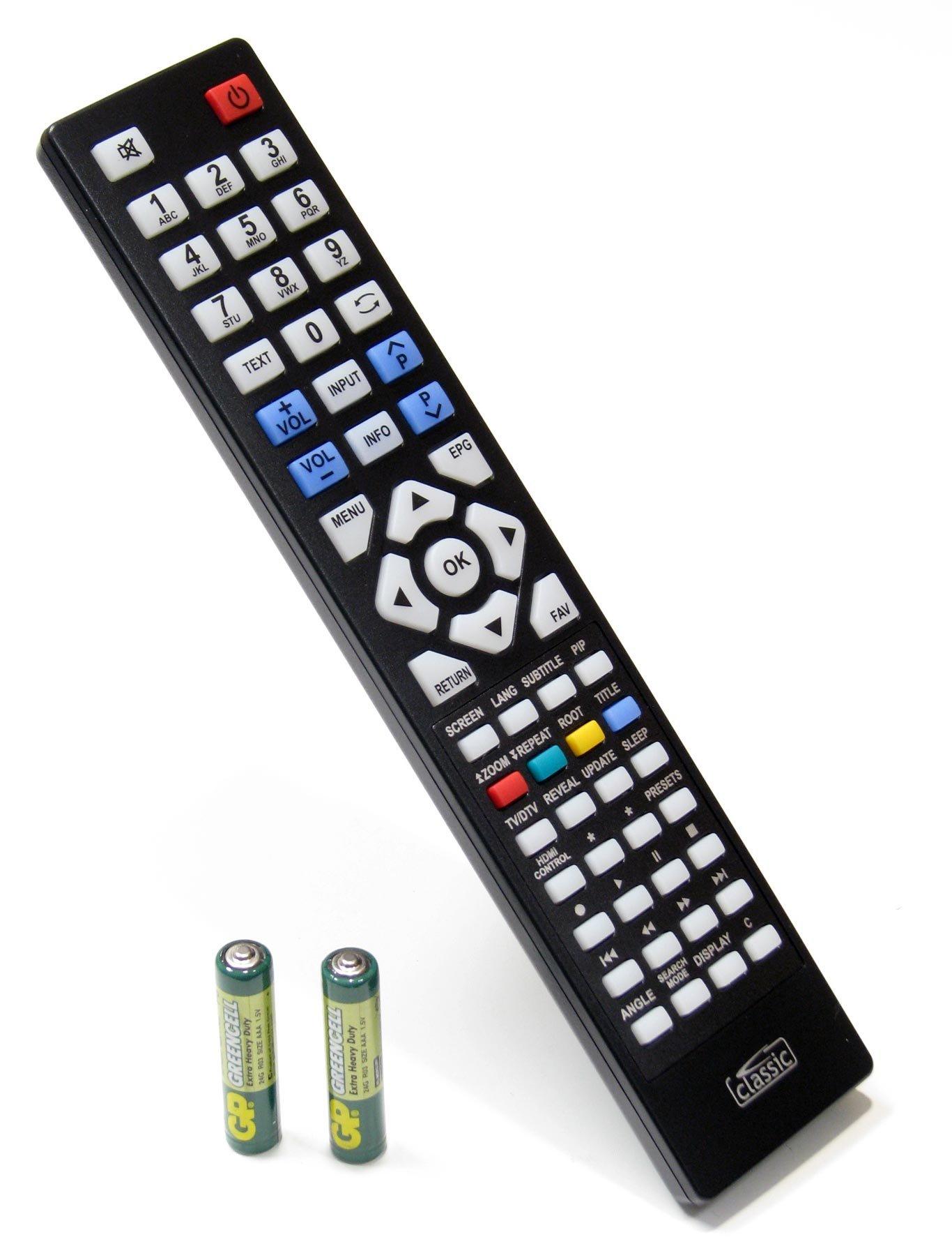 Reemplazo mando a distancia para OKI V42D-LED (pilas incluidas ...