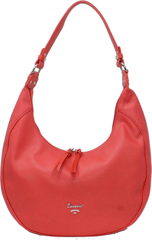 David Jones Paris Women Fashion Hobo Handbag Travel Work Shoulder Bag