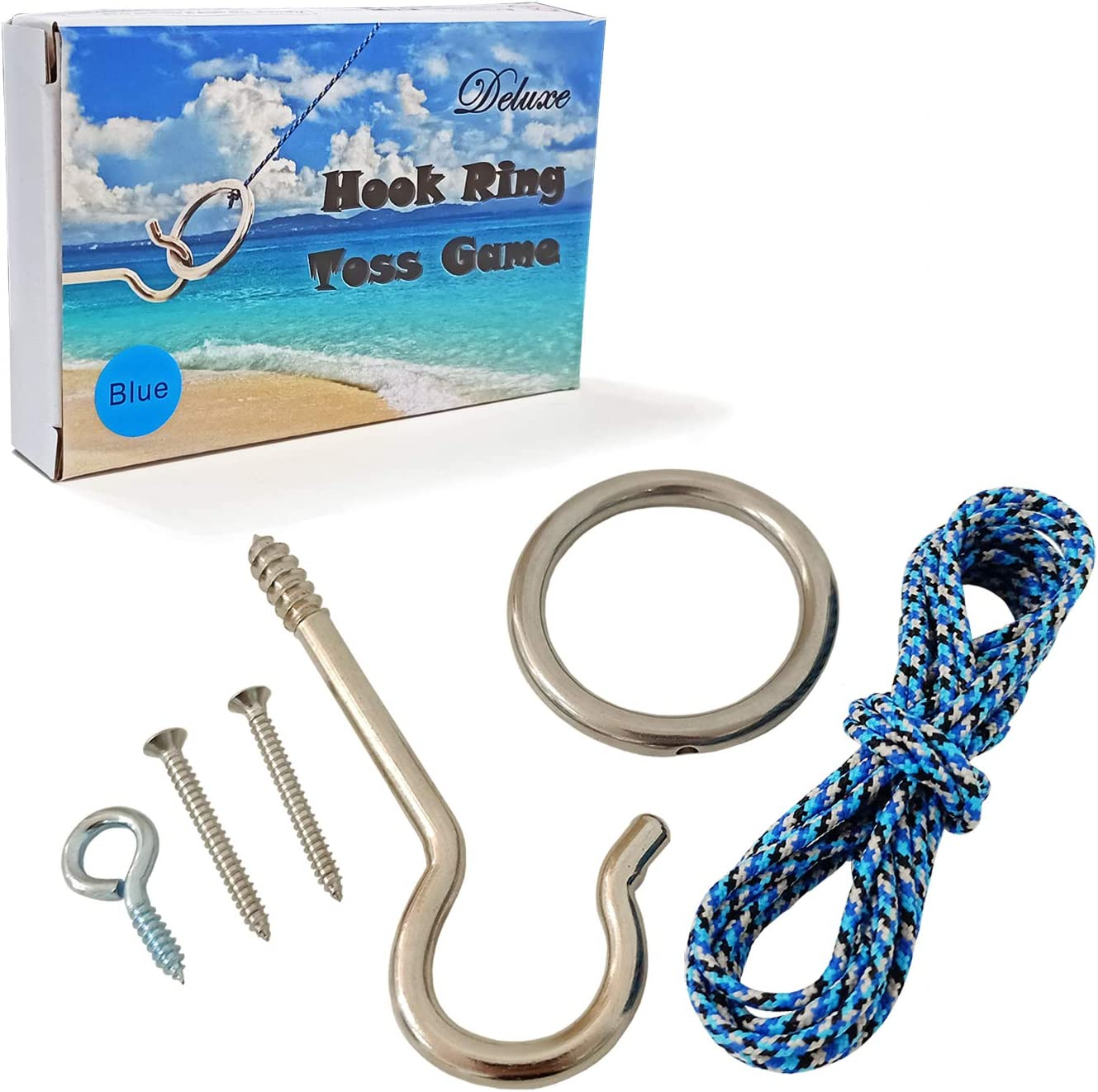 JACMOK Hook and Ring Toss Game Max 77% OFF Ranking TOP16 Games Target Famil for Throwing