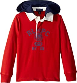 Cotton Jersey Hooded Rugby (Toddler)