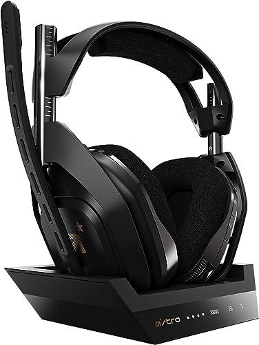 ASTRO Gaming A50 Casque sans Fil + Station de Charge Gamer, 4ème Génération, Dolby, Équilibre entre Son des Jeux & Vo...