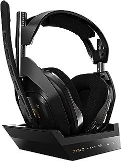 ASTRO Gaming A50 Auriculares inalámbricos gaming y base de carga, 4ta gen., Dolby Audio & ATMOS, control de balance de jue...