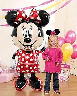 """Minni-e Mouse Airwalker 46"""" Inch Jumbo Foil Mylar Birthday Balloon"""