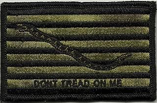 Shoulder Patch - Navy Jack Don't Tread On Me - Olive Drab