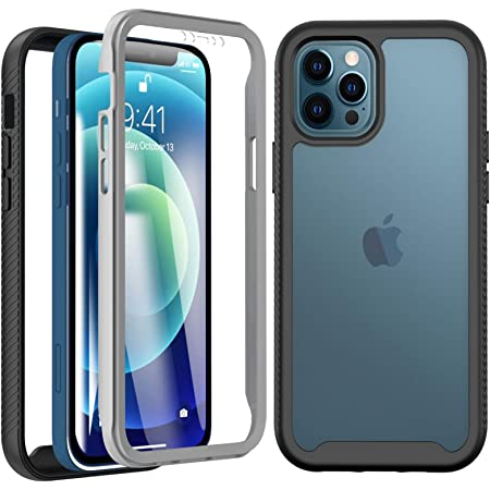 seacosmo Cover iPhone 12, Cover iPhone 12 PRO, 360 Gradi Rugged ...