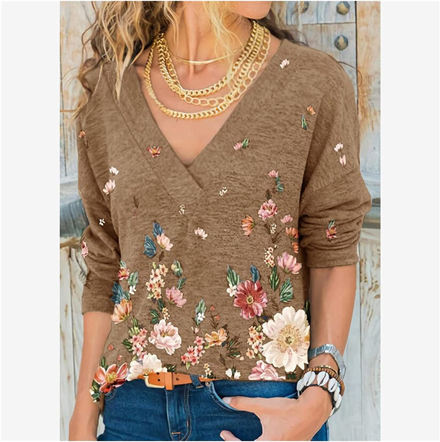 Women's Long-Sleeved T-Shirt Clothing Winter and Classic Branded goods Autumn