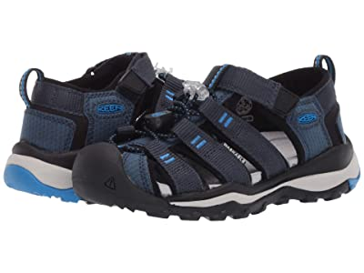 KEEN Kids Newport Neo H2 (Toddler/Little Kid) (Blue Nights/Brilliant Blue) Boy