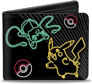 Buckle-Down Men's Bifold Wallet Pokemon