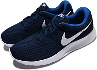 Nike Australia Men's Tanjun Trainers, Midnight Navy/White-Game Royal