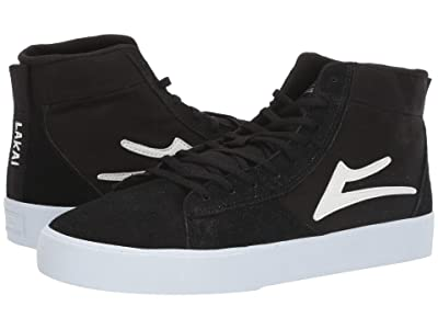 Lakai Newport Hi (Black Suede) Men
