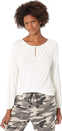 Soft Jersey Tees Long Sleeve Top