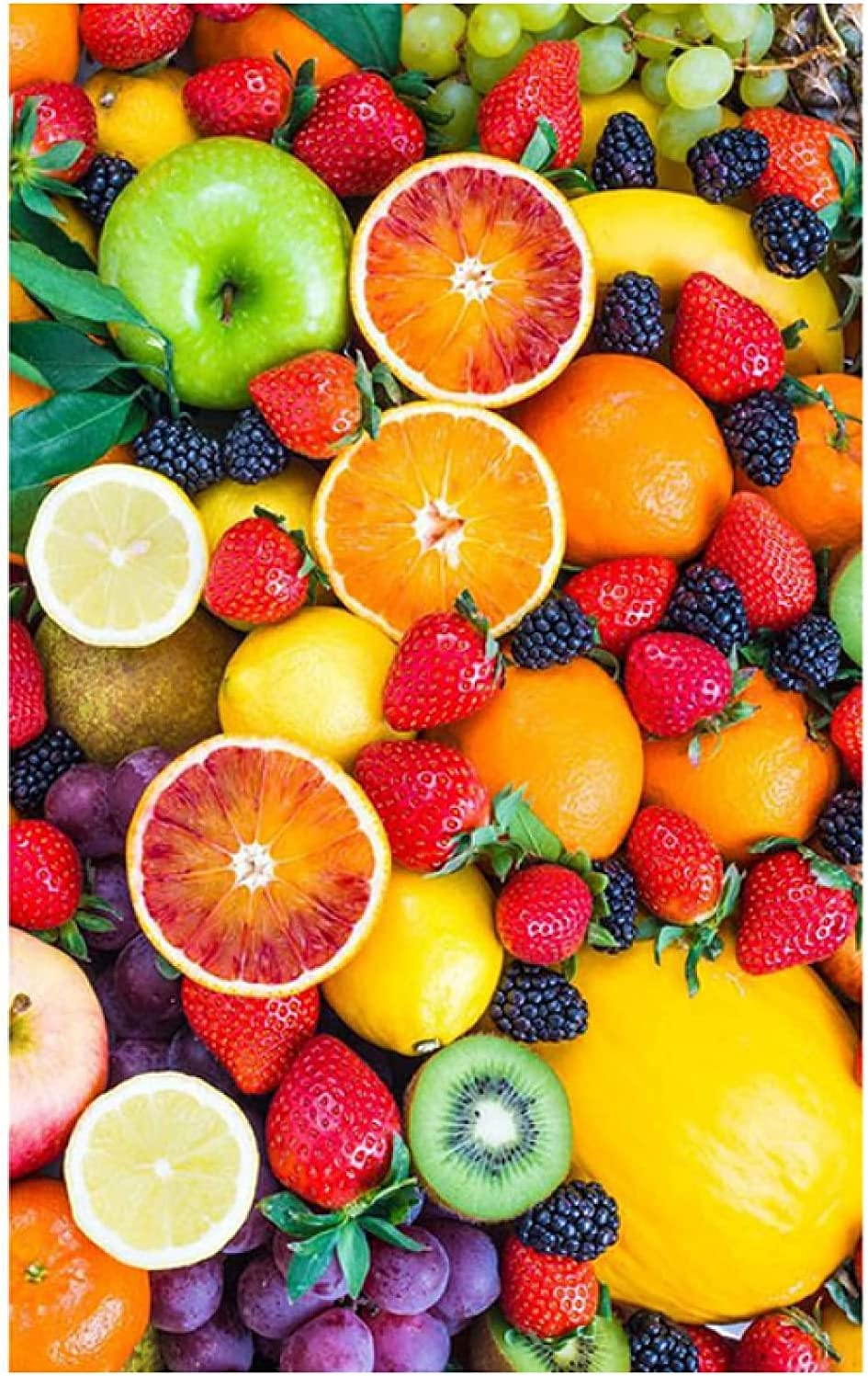 New product type Vegetable Fruits Healthy Food Poster Decor Wall Art Paintings fo Popular standard