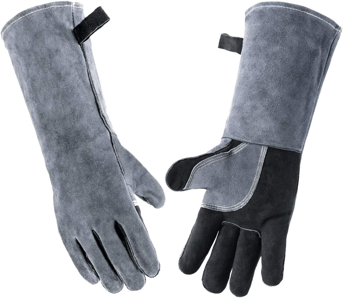 Wanyi 16 Inches 932℉ Fresno Mall 500℃ Welding Leather E Tampa Mall Gloves for