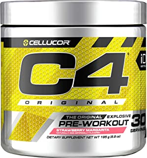 Cellucor C4 Pre Workout 30 Servings, Strawberry Margarita