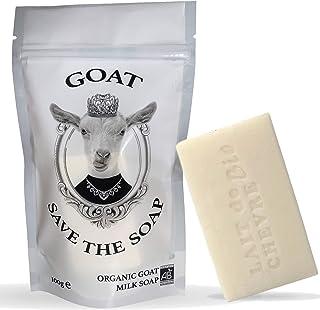 Ziengenmilchseife Bio, Gesichtsreiniger, Kerneseife Natur, Gegen-Pickel, Peeling-gesicht | Goat save the soap