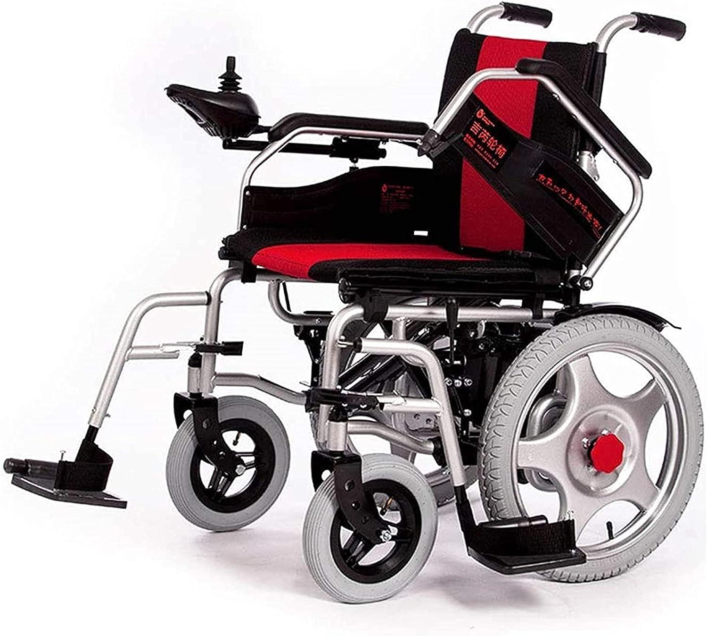 Lightweight Dallas Mall Folding Electric Wheelchair 250W Po Motor price Ultra Dual