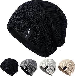 AmaFanshop ニット帽 メンズ レディース 兼用 サッカー選手着用 内側フリース素材 伸縮性有あり フリーサイズ