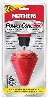 Mothers 05146 PowerCone 360 Metal Polishing Tool, Single Unit