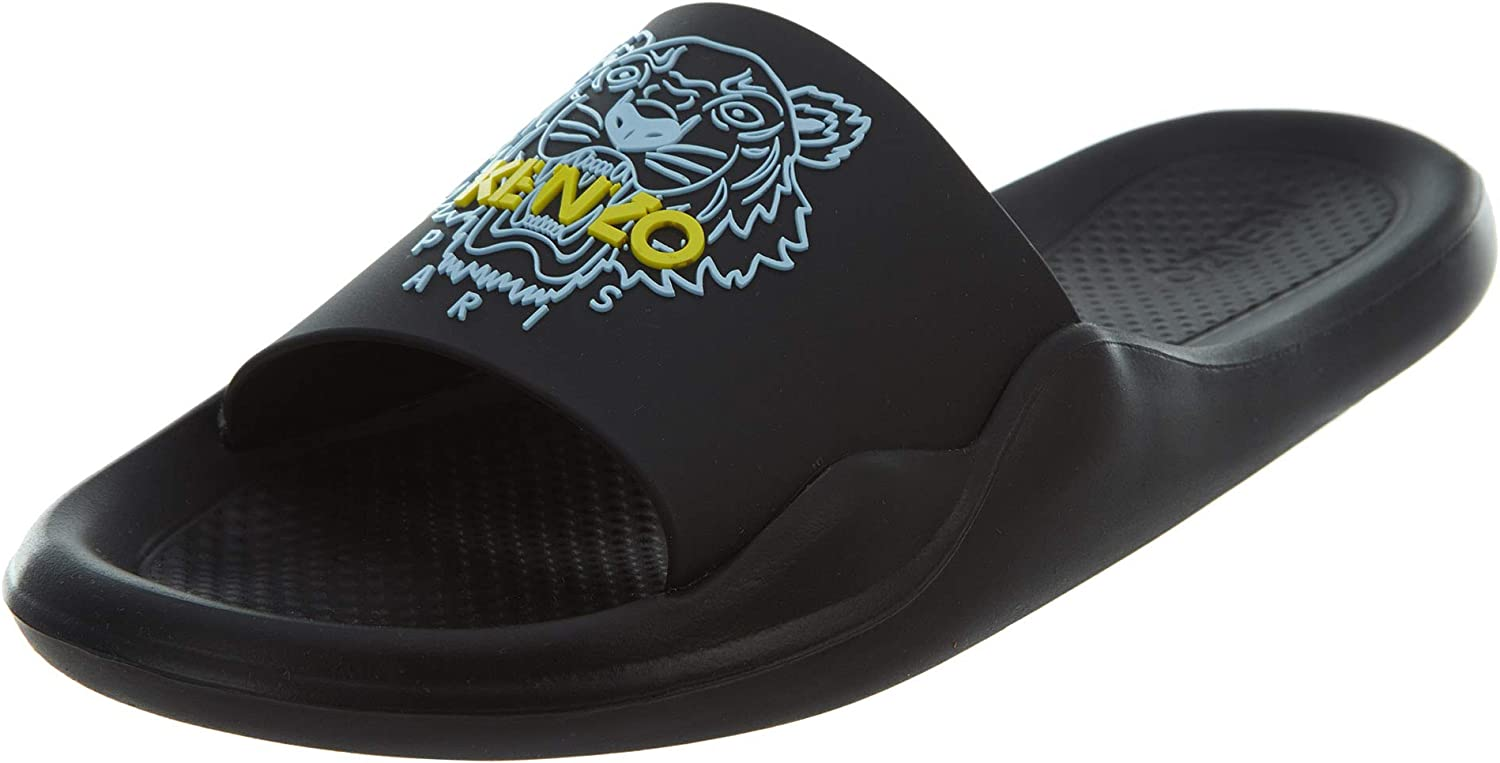 Kenzo Women Tiger Slides black