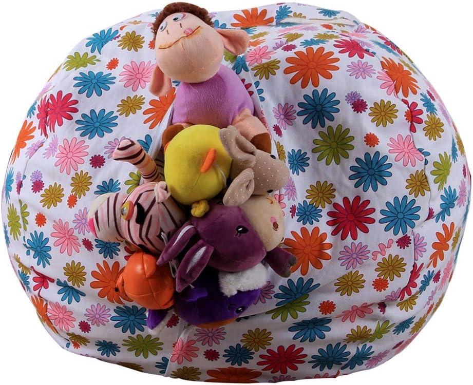 2021 model Storage Bean Bag Chair Kids Stuffed 16 Cartoon Max 59% OFF Plu Inches Animal