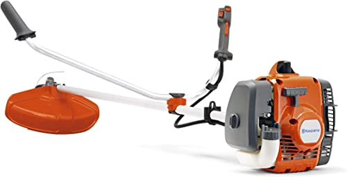 "discount Husqvarna high quality 129R sale 17"" Cutting Path Gas Brushcutter,Orange online sale"