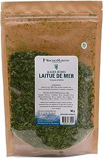Algue Nori Bio de lentejuelas, 50 g, fabricado en Francia,