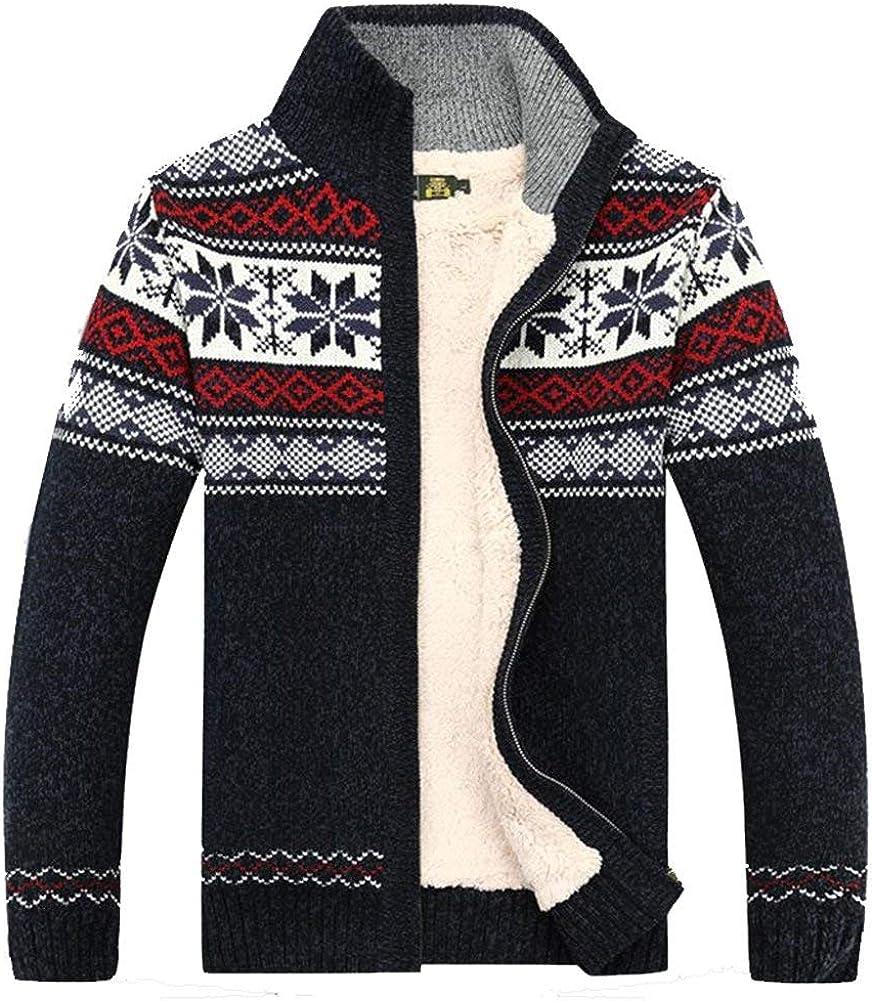 Kedera Fashion Winter Cotton Knitted Cardigan Thick Men's Oklahoma City Virginia Beach Mall Mall Casual