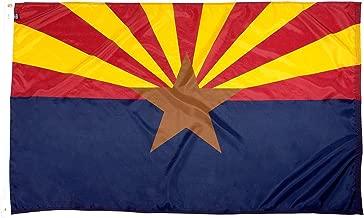 FlagSource Arizona Nylon State Flag, Made in The USA, 3x5'
