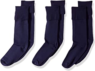 Jefferies Socks Girls' School Uniform Knee High (Pack of 3)