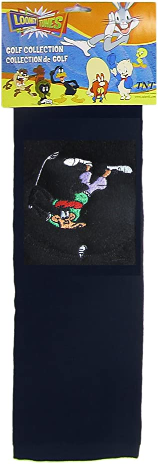 Looney Tunes Daffy Duck Tri-Folded Golf Bag Towel uhvupl3661203