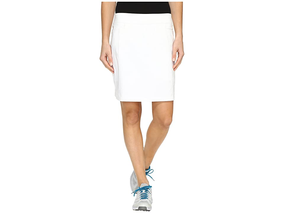 adidas Golf Ultimate Adistar Skort (White) Women