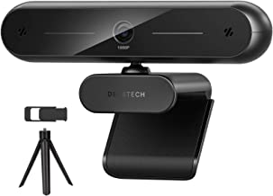 Webcam for Desktop, DEPSTECH USB Webcam with Microphone, HD 1080P Web Cameras for Computer Monitor, Streaming Webcam with ...