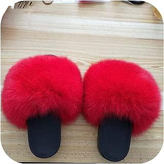 plage 2019 Big Full Furry Slippers Slides Beach Slides Holiday Furry Slides for Women