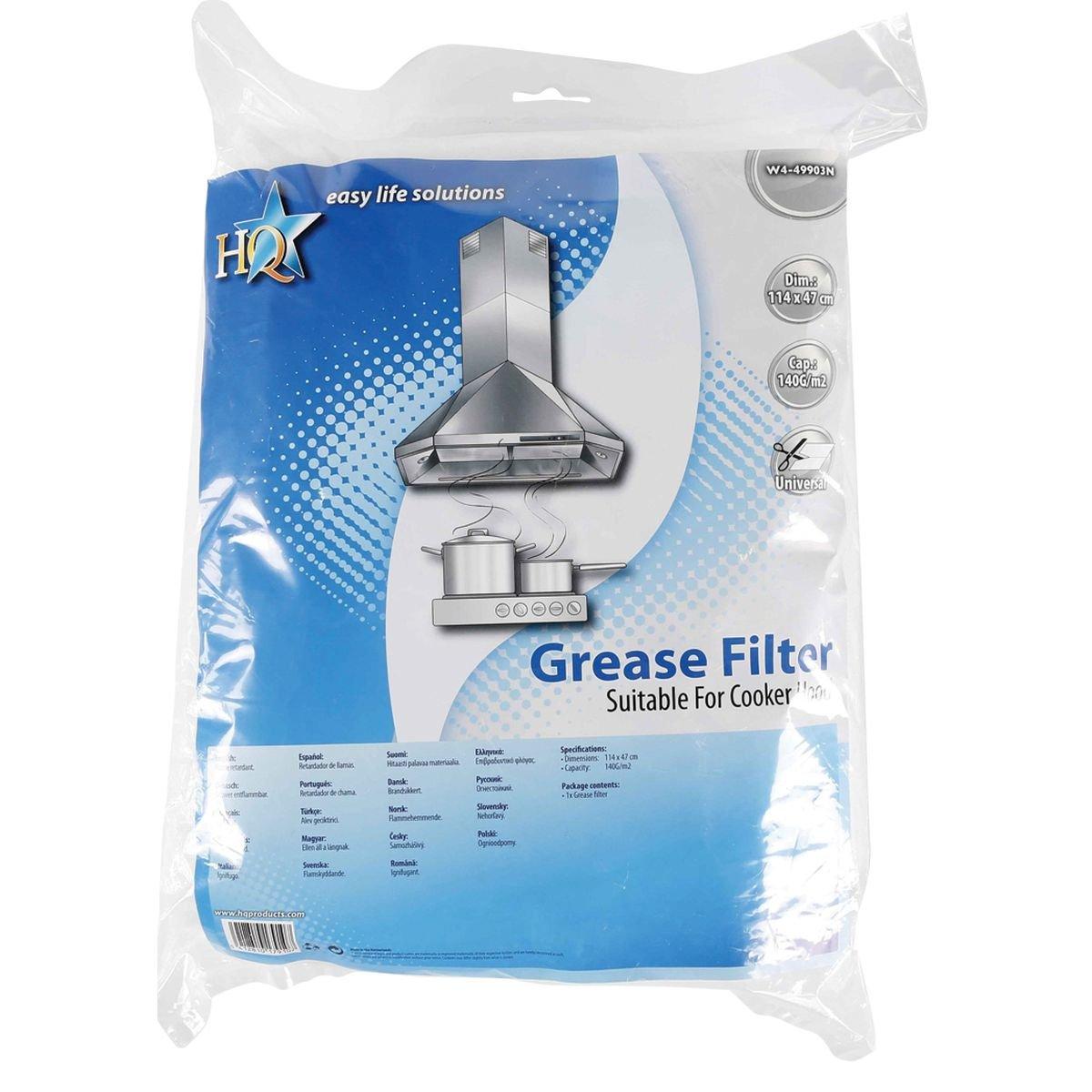 Filtro antigrasa universal para campana extractora de 114 x 47 cm: Amazon.es: Grandes electrodomésticos