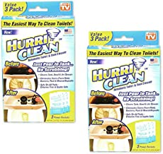 Hurriclean No Scrub Toilet Tank Cleaner Tablets for Automatic Removal of Stains, Mold,..