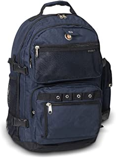 Everest Luggage Oversize Deluxe Backpack, Navy, X-Large