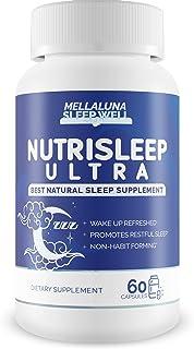 Nutrisleep Ultra - Weight Loss Sleep Supplement - Wake Up Refreshed - Support Metabolism - Nutrisleep Resurge Deep Sleep F...