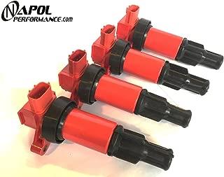 Nissan Silvia Ignition Coils 180sx 200sx 240sx S13 S14 Sr20 Sr20det Coil Packs - Performance 91-99 22448-50f01 Kps13 Cs14 JDM - Pack of 4
