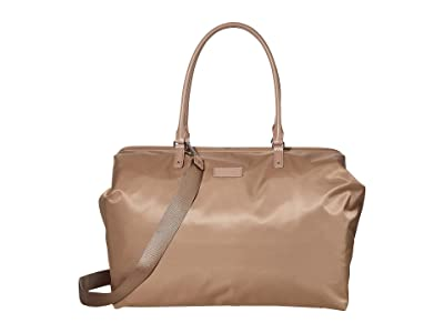 Lipault Paris Lady Plume Weekend Bag M 2.0 (Dark Taupe) Bags