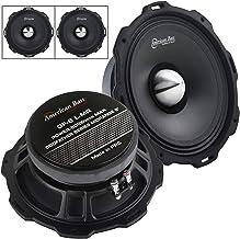 """$128 » 2 Pack American Bass Godfather 8"""" Mid Range Car Speaker 800 Watts Max GF-8 L-MR"""