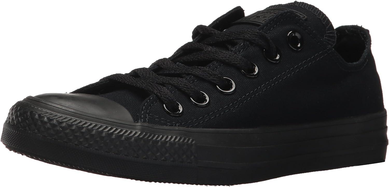 fcdf9eeeb Converse Unisex Chuck Taylor All Star Ox Low Top Black Black Black Black  Sneakers - 8 Men 10 Women 3ab307