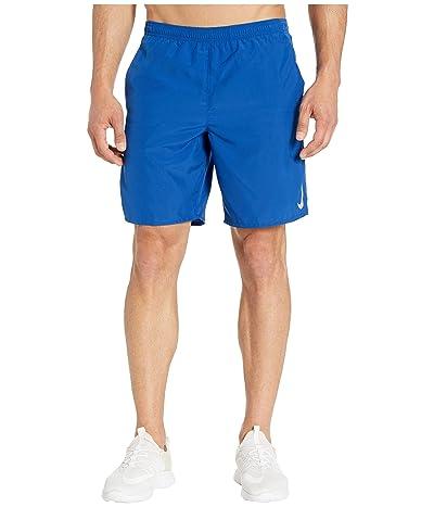 Nike Challenger Shorts 9 BF (Indigo Force/Reflective Silver) Men