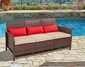 Best brown wicker couch Reviews