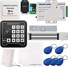 UHPPOTE Full Complete 125KHz EM-ID Card 1 Door Security Access Control Entry System Kit With Electric 600Lbs 280KG Force M...