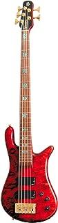 Spector NS-5XL USA 5-String Bass Satin Amber Gold Hardware