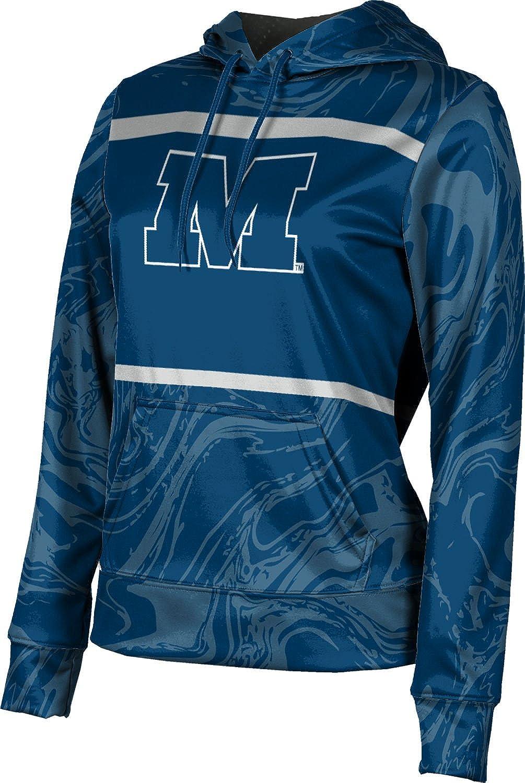 ProSphere Millikin University Girls' Pullover Hoodie, School Spirit Sweatshirt (Ripple)